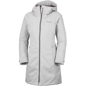 Columbia Autumn Rise Manteau long Femme, flint grey